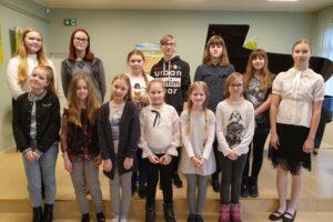 21. veebruaril 2019 toimus koolis Eesti Vabariigi aastapäevale pühendatud Eesti klaverimuusika festival.