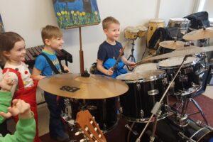 Kooli külastus Haapsalu ja Palivere lasteadade laste poolt