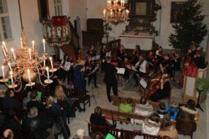 Kooli Jõulukontserdil Jaani kirikus 2016